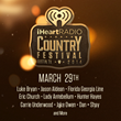 First-Ever iHeartRadio Country Festival Tickets Available TODAY at SuperStarTickets