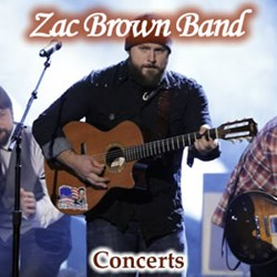 Zac Brown Band Concert Tickets