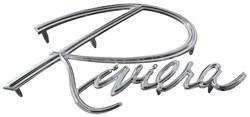 1963-67 Buick Riviera Fender Emblem