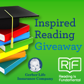 Gerber Life's Inspired Reading Giveaway