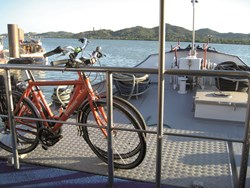 BikeToursDirect guests explore beautiful country side and coastline on their Provence bike and boat itinerary.