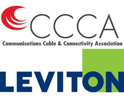 CCCA and Leviton logos