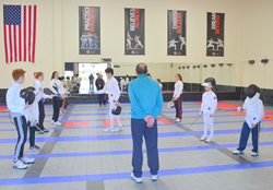 Academy of Fencing Masters Fencing Camp
