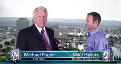 FSXinterlinked host, Michel Fugle, interviews Mike Hallett, Vuzix Director of Sales