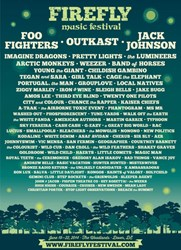 Firefly 2014 Tickets, Line-up, Schedule, Set Times