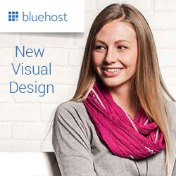 BlueHost Website Visual Design Upgrade