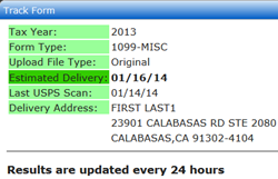 1099 File Tracking