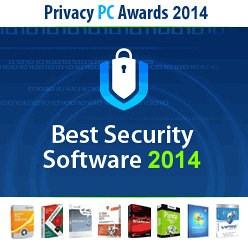 Best Security Software 2014 award