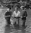 (L to R) Alan Hale, Jr. Russell Johnson, Bob Denver