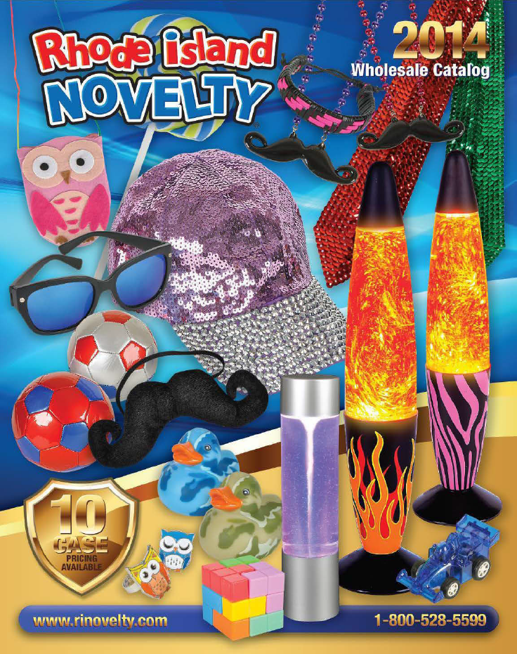 rhode island novelty 2014 wholesale catalogrhode island novelty is the leading importer and wholesale distributor of novelty toys giftware stationery - Halloween Novelties Wholesale