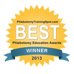 Phlebotomy Award Badge