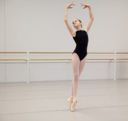 Student of The School of Pennsylvania Ballet. Photo: Alexander Iziliaev.