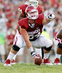 Oklahoma Center Gabe Ikard Pat Tillman East-West Shrine Game