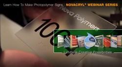 Monthly Novacryl® webinar series