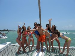 Catamaran Sailing Miami