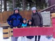 Family at Toboggan