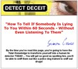 Detect Deceit Review | Learn How To Spot Any Lie Quickly And Easily –...