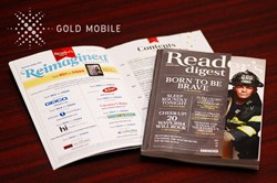 Reader's Digest Selects Gold Mobile as the Mobile Engagement Platform for New Promotional Campaigns