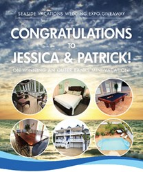 2014 Outer Banks Wedding Expo Giveaway Winner