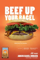 Beef Up Your Bagel at NY Bagel Cafe