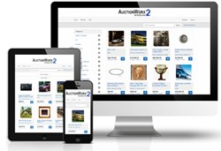 AuctionWorx Enterprise 2 features a responsive design that automatically optimizes to desktop, tablet, or mobile devices.