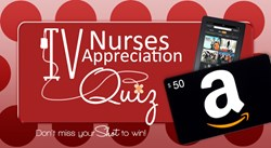Take the Quiz on TRS' facebook fan page and you can be entered to win a Kindle Fire HD and $50 Amazon gift card.