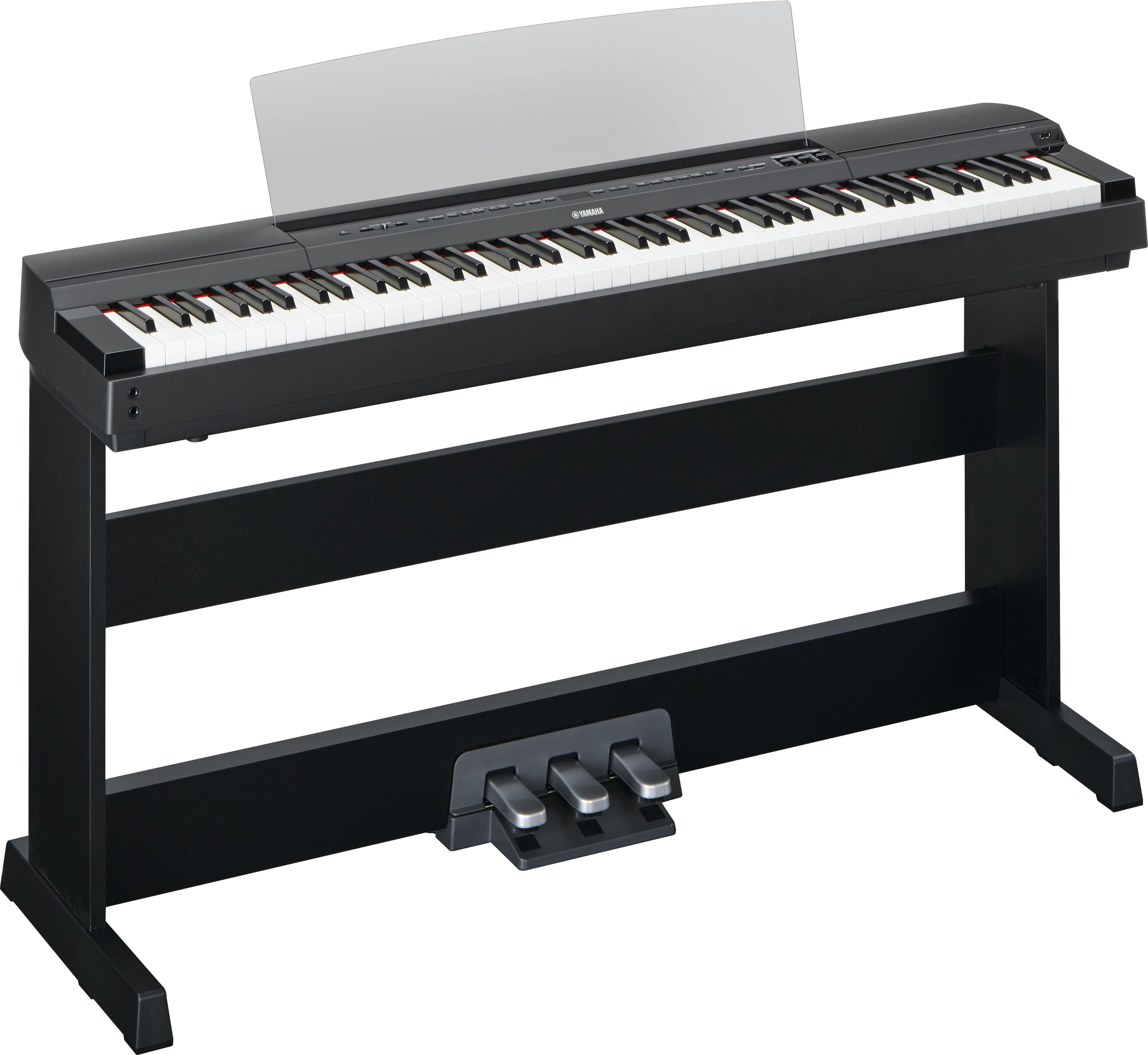 Yamaha p 255 portable digital piano takes piano tone and for Yamaha digital piano controller