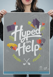 Hyped on Help poster