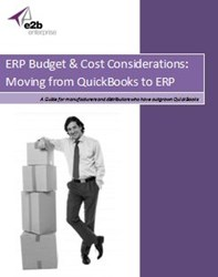 QuickBooks to ERP