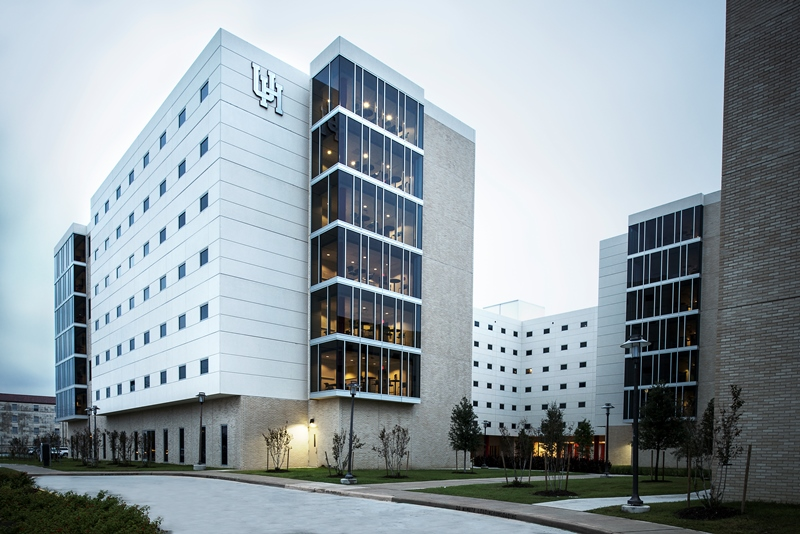 Ksq architects completes new student housing on the for University of houston student housing