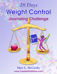 Weight Control Journaling Challenge Workbook