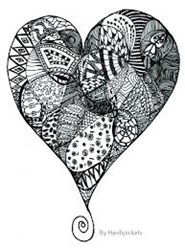 Zentangle art classes now offered at Inspiration Uncorked Art Parties in Downtown Ferndale, MI.