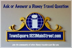 Town Square: Disney Travel Q&A
