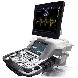 GE Vivid™ E9 with XDclear