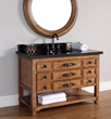 "James Martin Solid Wood 48"" Malibu Single Bathroom Vanity 500-V48-HON"