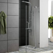Vigo VG6042CHCL36 36-inch Frameless Shower Door 38 Clear Glass Chrome Hardware