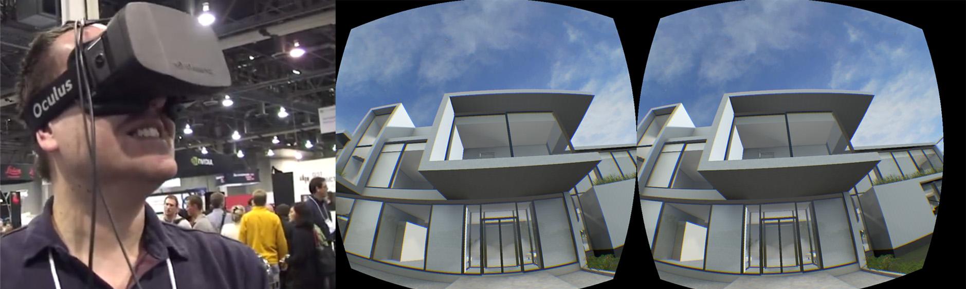 BIM Goes Virtual: Oculus Rift and Virtual Reality Take