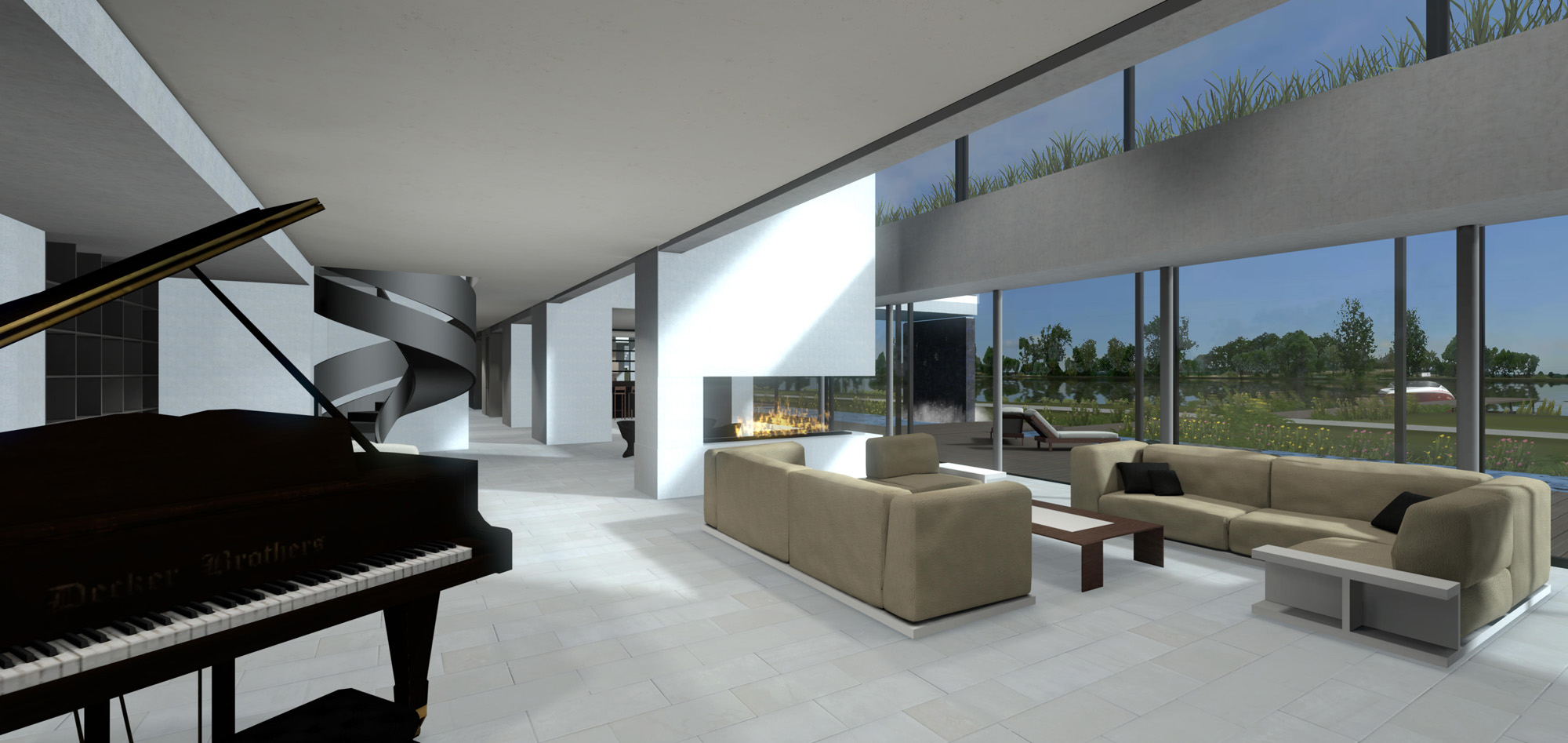 Bim Goes Virtual Oculus Rift And Virtual Reality Take Architectural Visualization To The Next Level