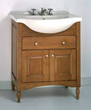Empire Industries W34L - windsor 34 two doors and one drawer light cherry Bathroom Vanity