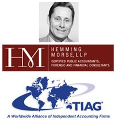 Dan Ray of Hemming Morse in San Francisco joins respected accountants from around the world on TIAG's Advisory Board.