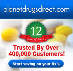 Planet Drugs Direct 12 years and 400,000 customers and growing