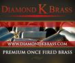 Diamond K. Brass Now Selling Projectiles and Reloading Accessories