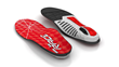 IRONMAN RACE insoles are lightweight with a flexible arch for race day.