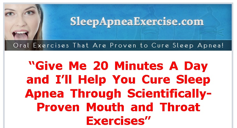 the sleep apnea exercises program pdf