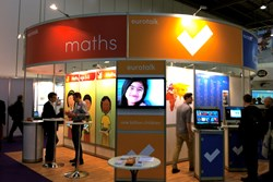 EuroTalk's stand at the Bett show