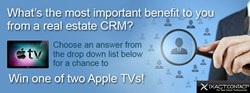 Real Estate Contact Management- Win an Apple TV from IXACT Contact
