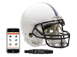 Football helmet sensors