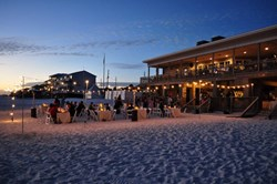 A wedding on the beach at Seacape Resort