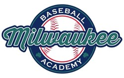 Milwaukee Baseball Academy Logo Indoor Baseball Facility Milwaukee