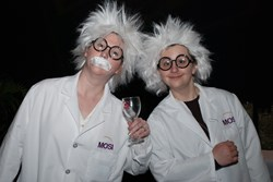 Einstein on Food & Wine will featuring roaming Einstein's, Roller Derby girls, Ghostbusters, Storm Troopers, and tons of food and wine.